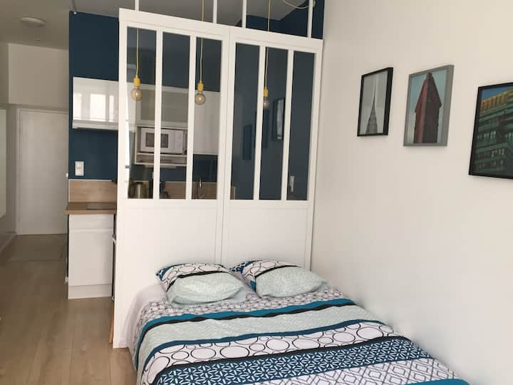 Renovated studio in the heart of the city