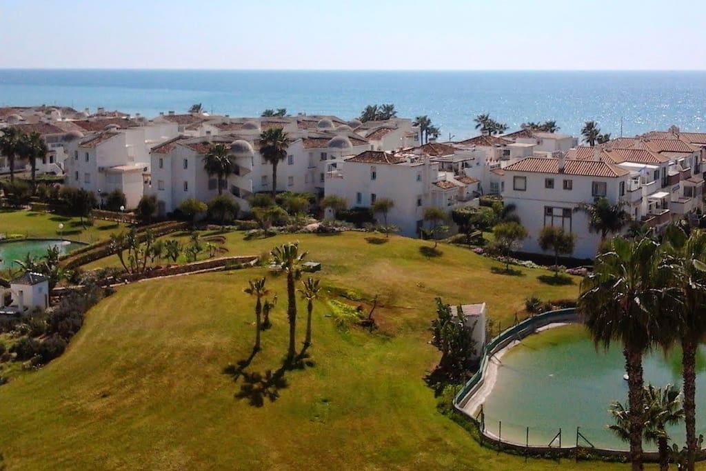 Apartamento laguna beach torrox costa m laga apartments for rent in torrox andaluc a spain - Apartamentos laguna beach torrox ...