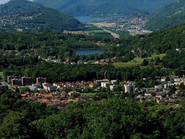 House  8 km from Lugano - Ponte Capriasca - Huis