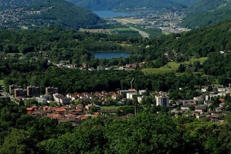 House  8 km from Lugano - Ponte Capriasca