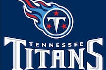 Nashville is home the the Titans NFL team - you're a quick Uber/Lyft ride to Nissan Stadium where they play.