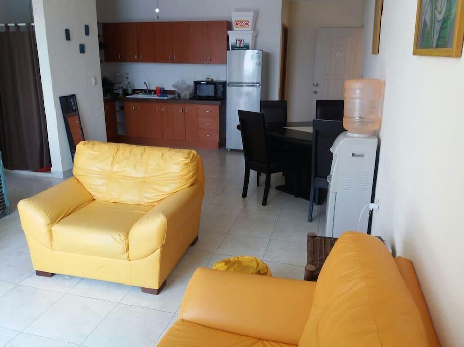 Sala, living room, salon