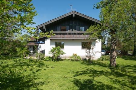 Ferienhaus im 3-Seengebiet in den Bayrischen Alpen - Hausham - 独立屋
