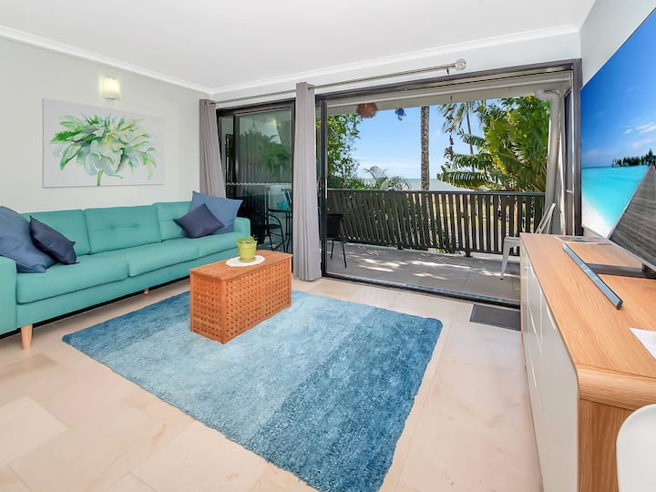Escape to Your own Space with Balcony Beach Views