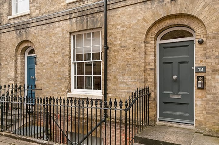 Superb ground floor flat in the heart of the City