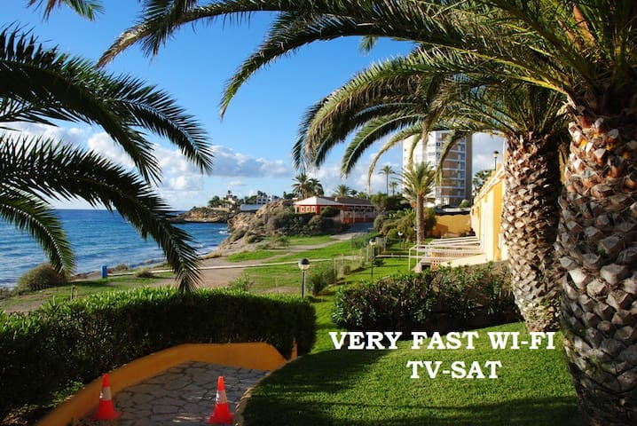 Beautiful home 50m private beach Campello Alicante - El Campello - Apartment