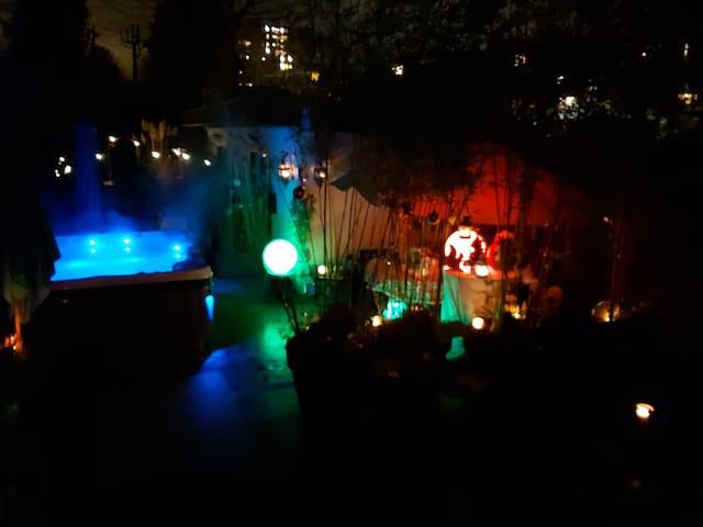 Studio Spa   p't dej offert  jardin Gd Stad Lille