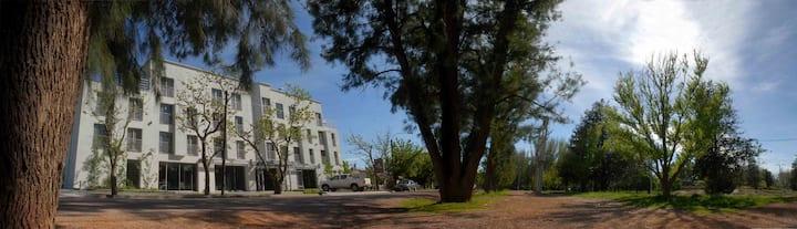 """Tierra Mora  """"Habitación Stándard"""" vista al Parque"""