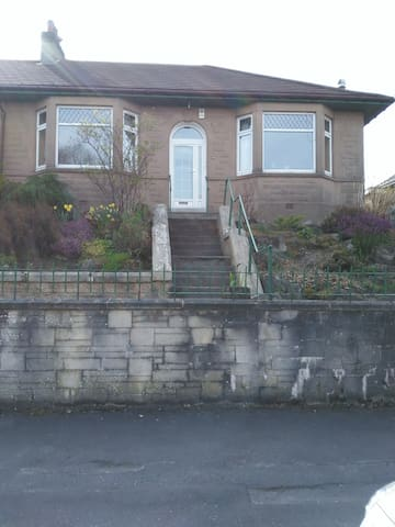 Fantastic family friendly West End house & garden - Glasgow - House