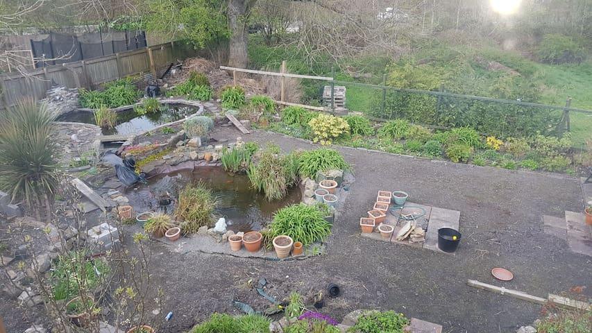 Garden is a work in progress