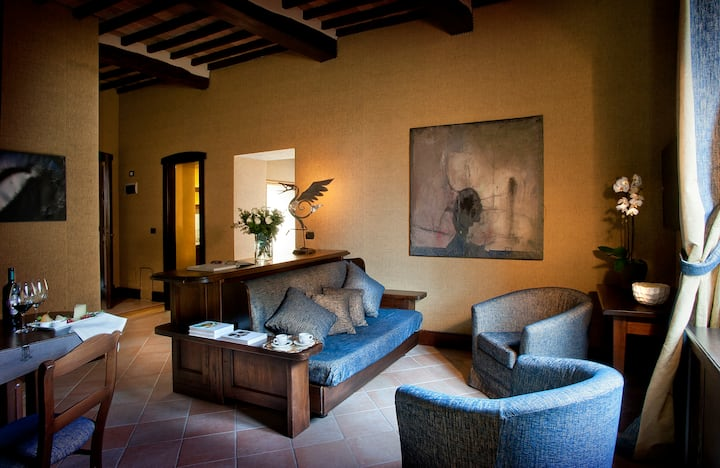 Cimabue Apartment at Castel Porrona Relais & Spa