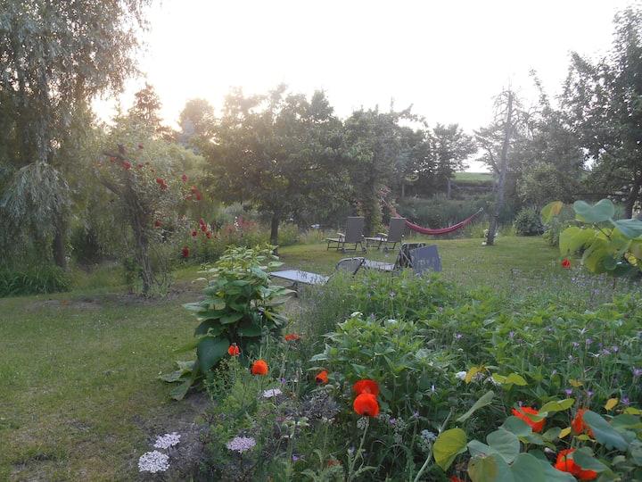 Fewo Sonne +Mond bis 11P: Badezuber, Kamin, Garten