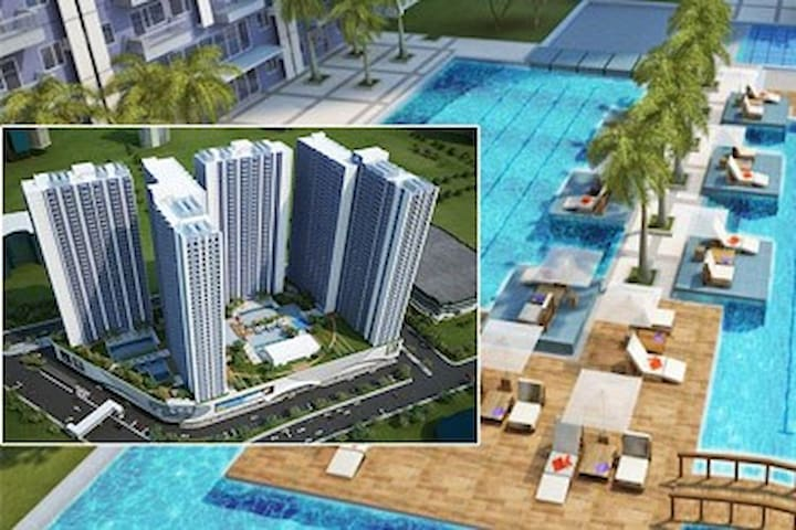 33F Condo Unit 1 Bedroom w/ balcony in Makati