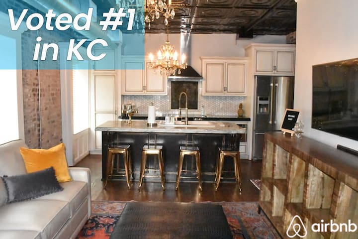 Secluded Historical Home in the ❤️ of Downtown KC