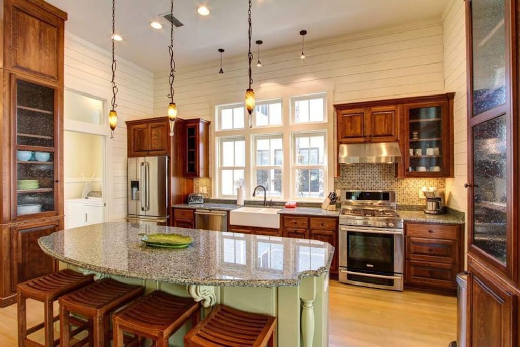 Extremely Well-Appointed and High-End Kitchen