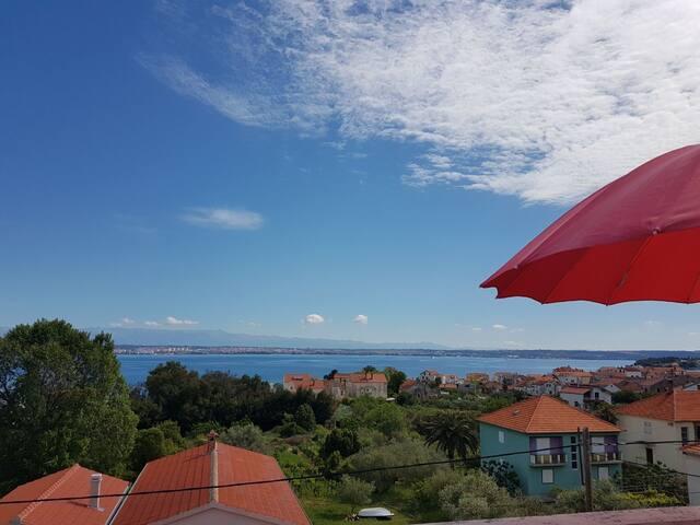 Sea view apartment Šoša