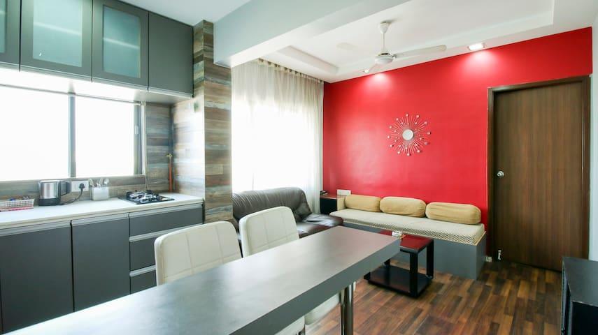 Modern & Cozy 1 Bedroom Apt