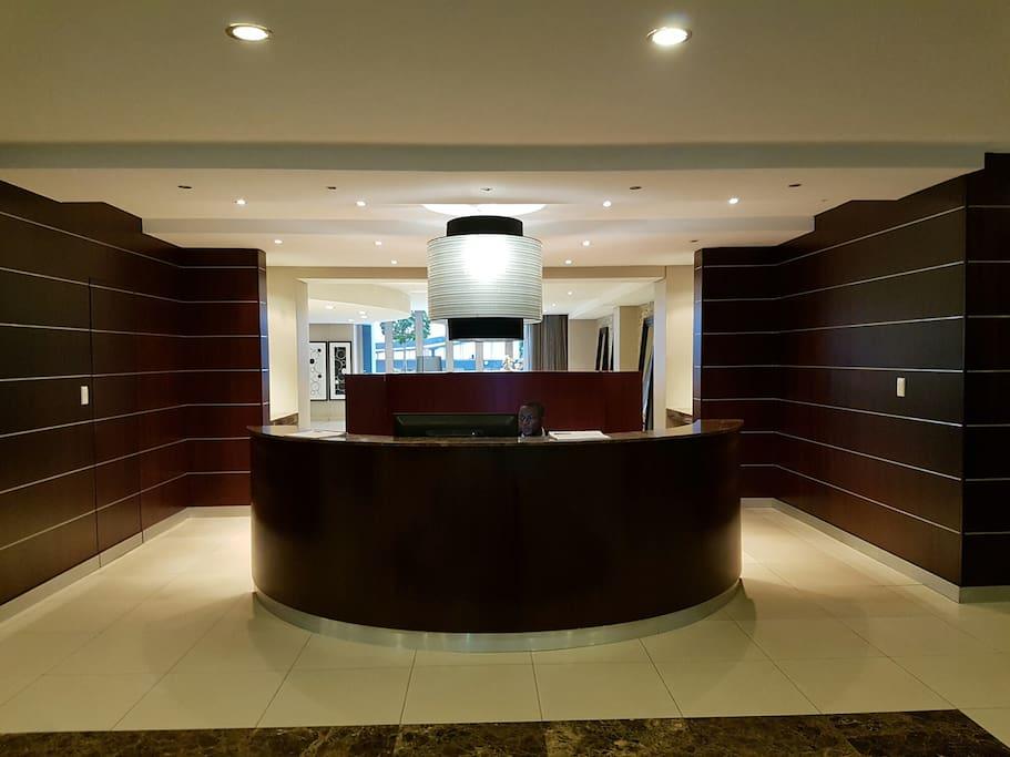 Building reception