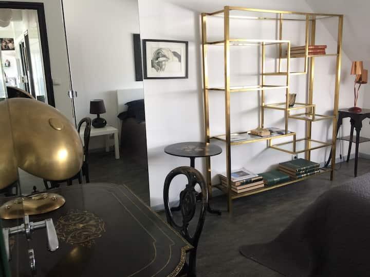 Le Loft en Champagne REIMSEPERNAY Chambre Napoléon
