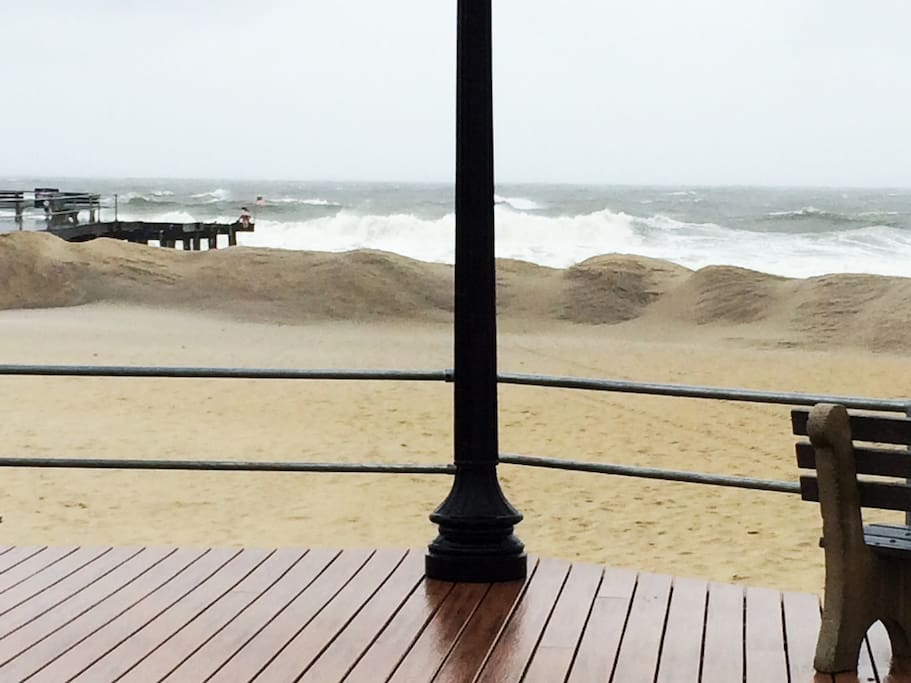 Ocean Grove after the storm