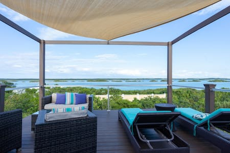 Escape to Exhale at a modern style villa