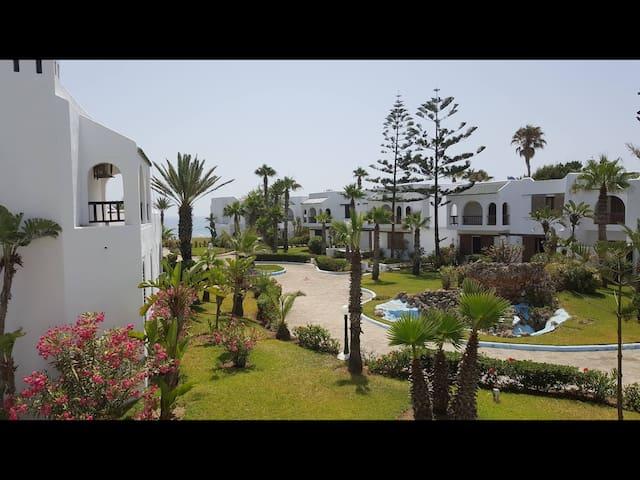 Merveilleux appartement en bord de mer  Bahia Smir