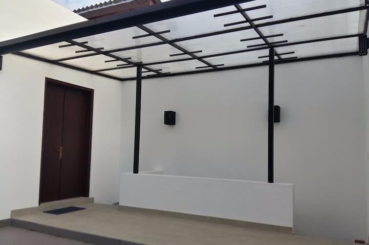 Newly built luxury house