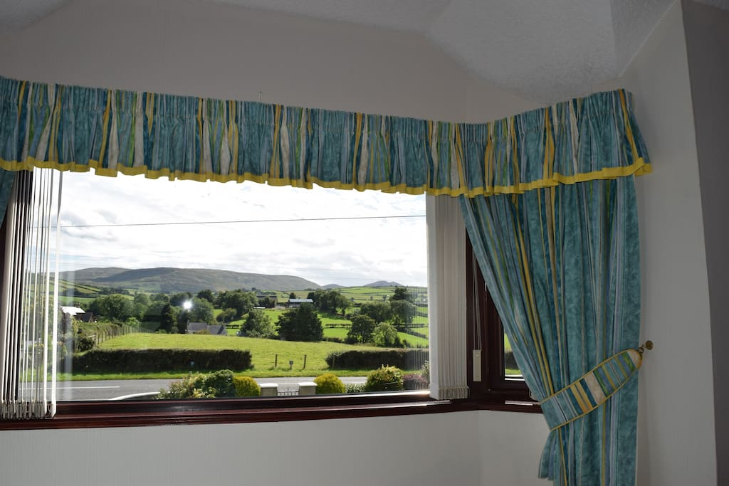 View of the Mournes from the Bedroom