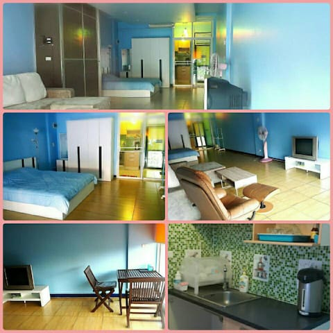 Resort Blue Room - Pak Kret - Wohnung