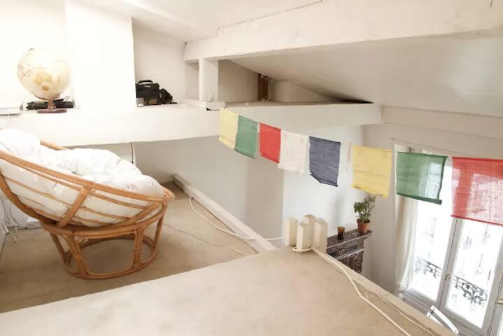 Superbe studio spacieux, proche de Montmartre