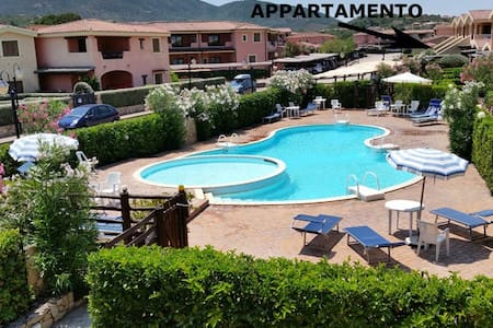apartment with swimming pool in Murta Maria, Olbia