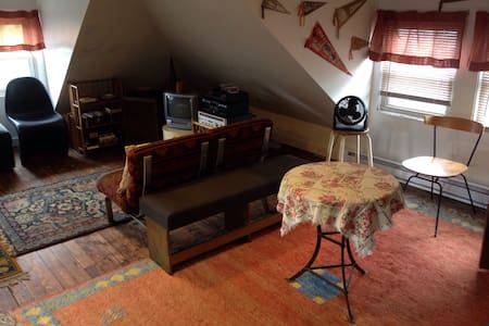 Large Private Attic in Shared House - Asbury Park