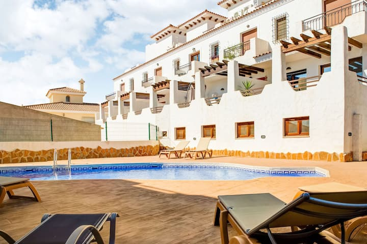 Beautiful Holiday Home in Palomares with Private Terrace