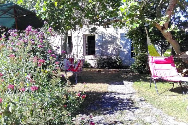 Maison en bord de rivière Charente, 6 pers.
