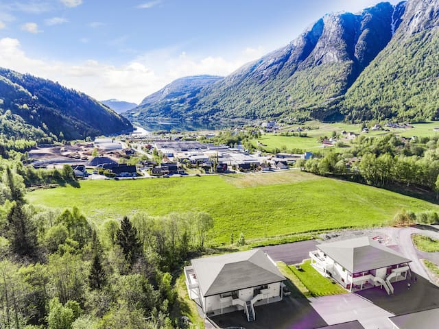New apartment in Loen view to fjord and mountains