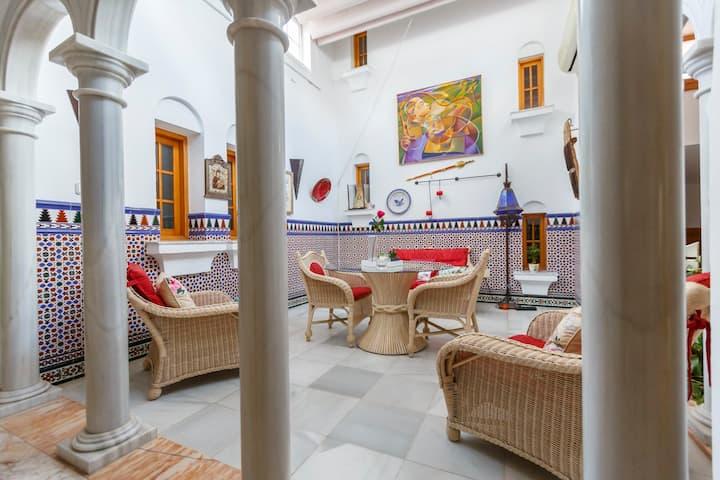 Villa con piscina en Níjar