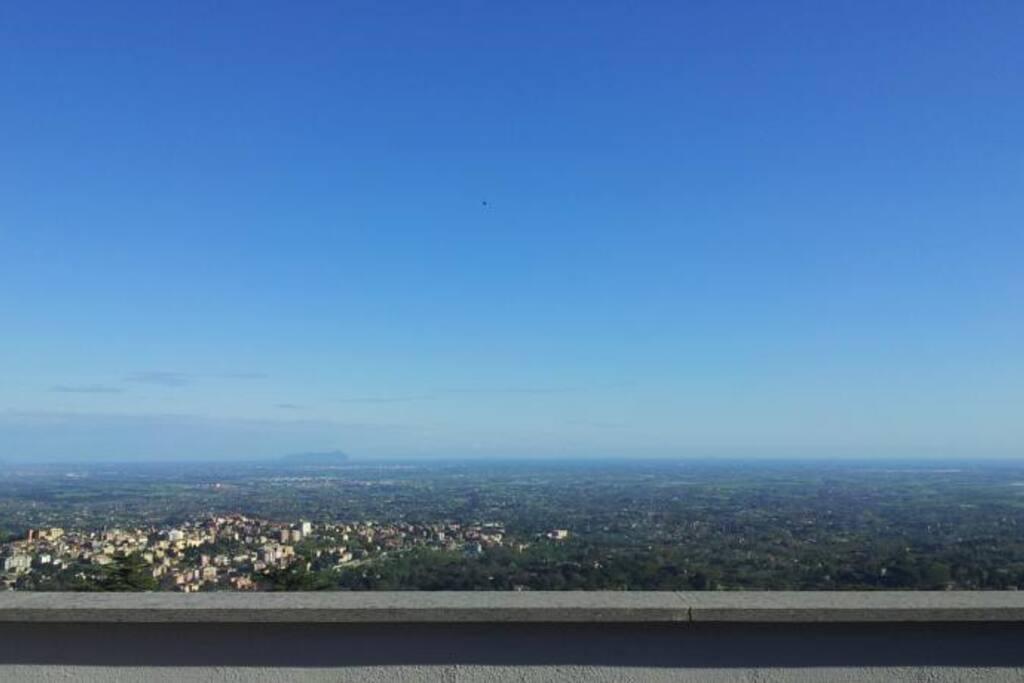 Panorama dei Castelli Romani