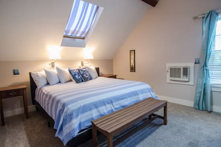 Room View (Fletcher, King bed, 2nd Floor, Carriage House)