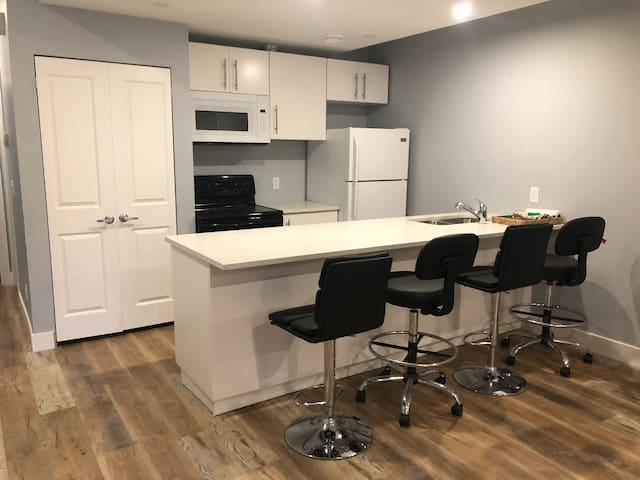Entire New 1 Bedroom Suite in Central Calgary