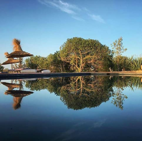 La maison boheme -piscine-campagne-Essaouira