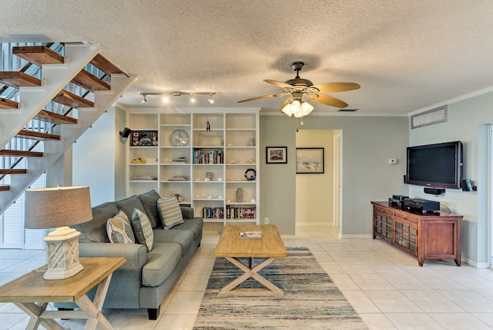 NEW! St. James City Home on a Canal w/Deck & Dock!