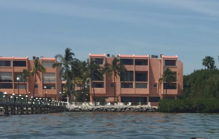 Oceanfront Townhome located in Florida Keys