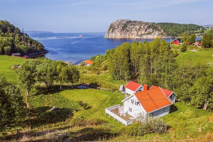 Nydelig landsted  i Snillfjord. 1,5t fra Trondheim