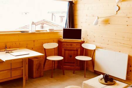 Charmant studio avec vue à Bonneval-sur-Arc