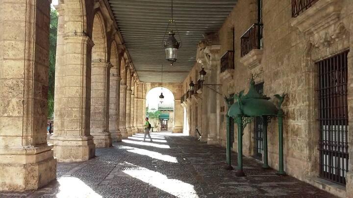 Palacio colonial barroco del gobernador