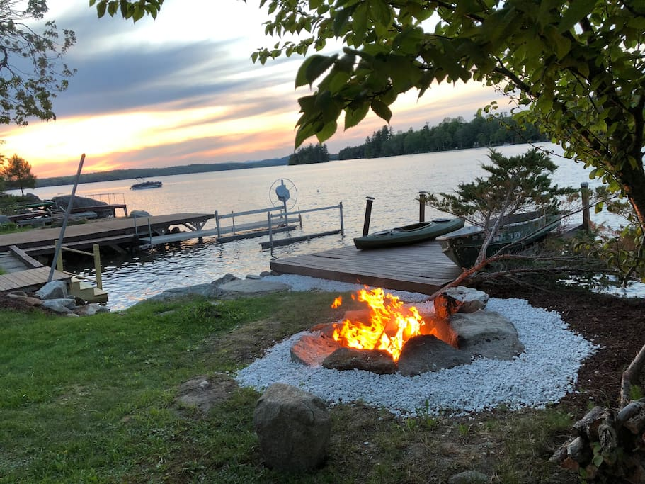 May 23rd 2018 A Bon Fire at sunset