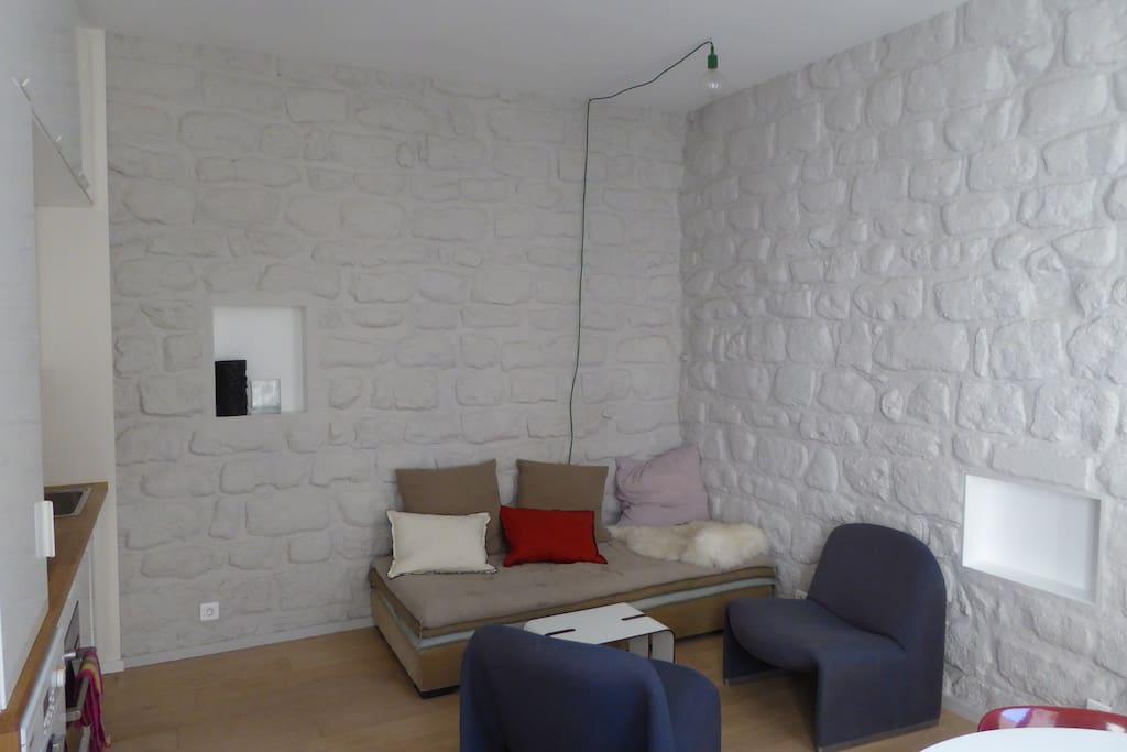 Living room - salon
