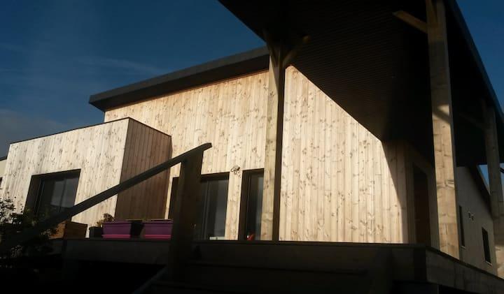 maison bois neuve