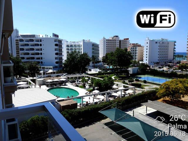 Apartamento 150 mts playa con WIFI - Palma - Apartament