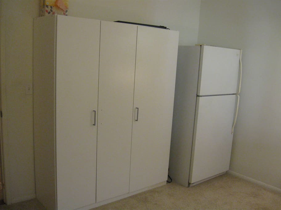 Refrigerator and closet